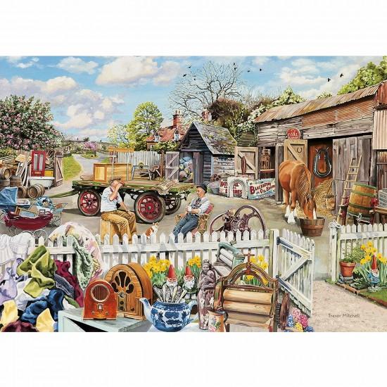 Puzzle 4 x 500 pièces : Autour du cheval - Gibsons-G5018