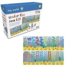 Puzzle 40 pièces - Sous la mer : Les chiffres