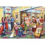 Puzzle 500 pièces : Au cinéma