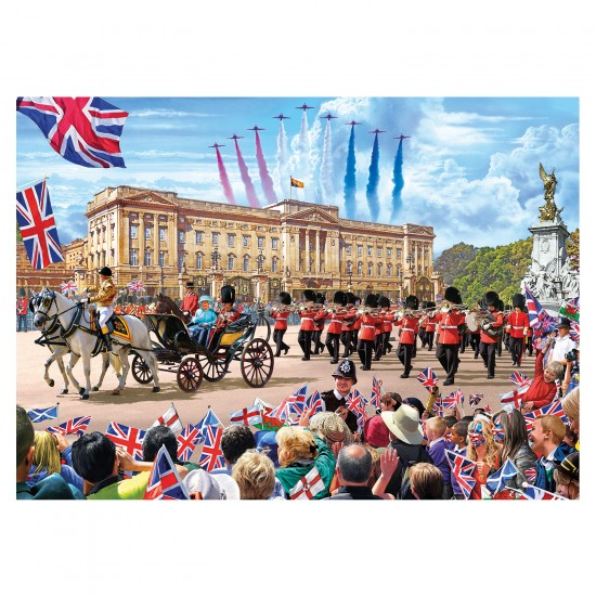 Puzzle 500 pièces : Buckingham Palace - Gibsons-G3401