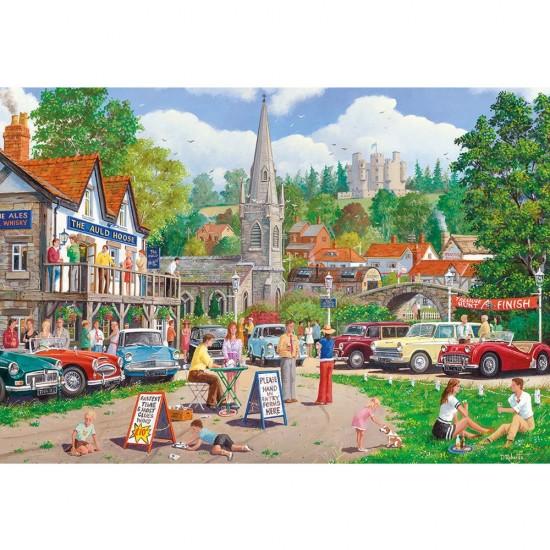 Puzzle 500 pièces : Chasse au trésor - Gibsons-G3091