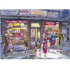 Puzzle 500 pièces : L'épicerie du coin