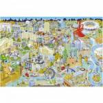 Puzzle 500 pièces : Londres vu du ciel