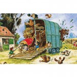 Puzzle 500 pièces : Norman Thelwell : Boxing Up