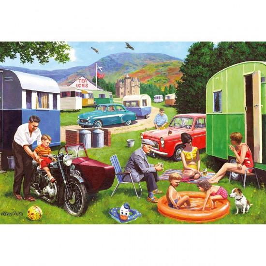 Puzzle 500 pièces : Touristes en Ecosse - Gibsons-G3071