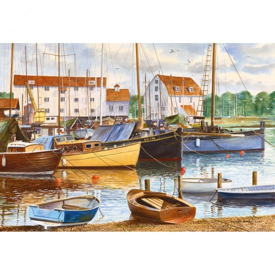 Puzzle 500 pièces : Woodbridge - Gibsons-G3082