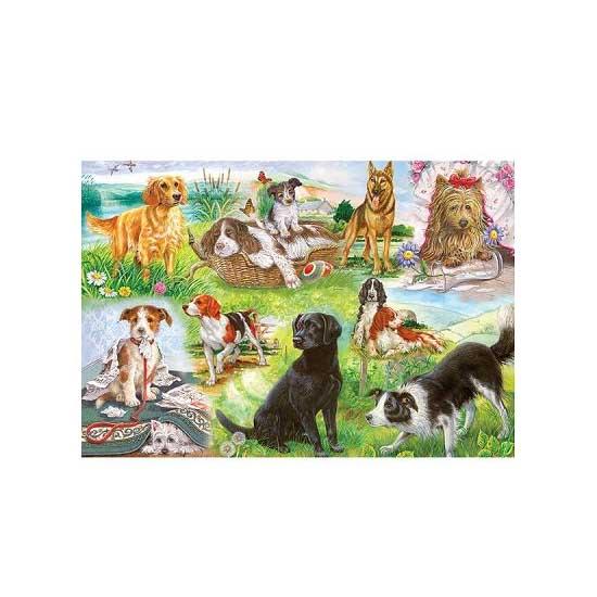 Puzzle 500 pièces - Nos amis les chiens - Gibsons-G3035