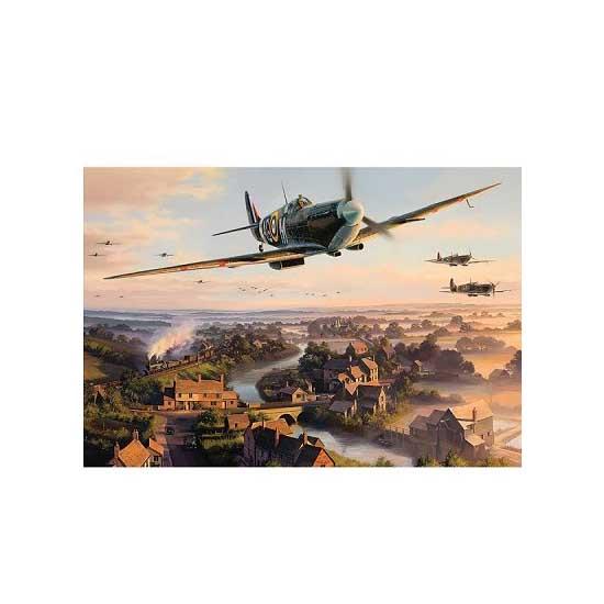 Puzzle 500 pièces - Pilotes de légende - Gibsons-G3032