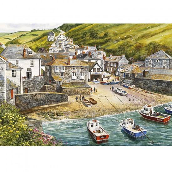 Puzzle 500 pièces - Port de pêche - Gibsons-G0892