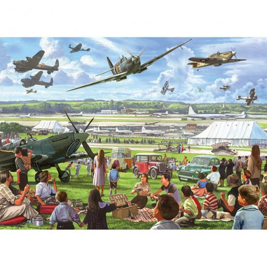 Puzzle 500 pièces XXL : Airshow - Gibsons-G3510