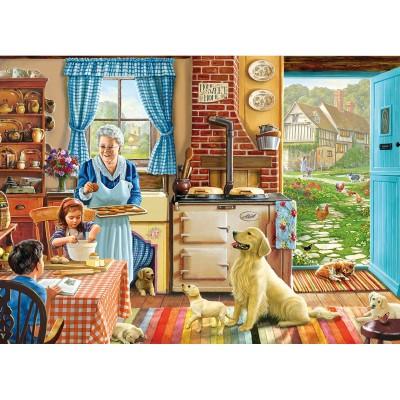 Puzzle 500 pi ces xxl passer du bon temp la maison puzzle gibsons rue - Bonne temperature maison ...