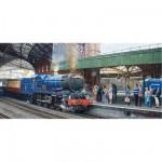 Puzzle 636 pièces panoramique : L'arrivée en gare de Temple Meads