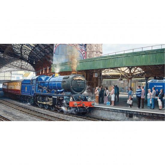 Puzzle 636 pièces panoramique : L'arrivée en gare de Temple Meads - Gibsons-G4024