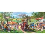 Puzzle Panoramique 636 pièces : Venu faire un tour