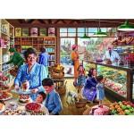 Puzzle 500 pièces : Steve Crisp : La boulangerie