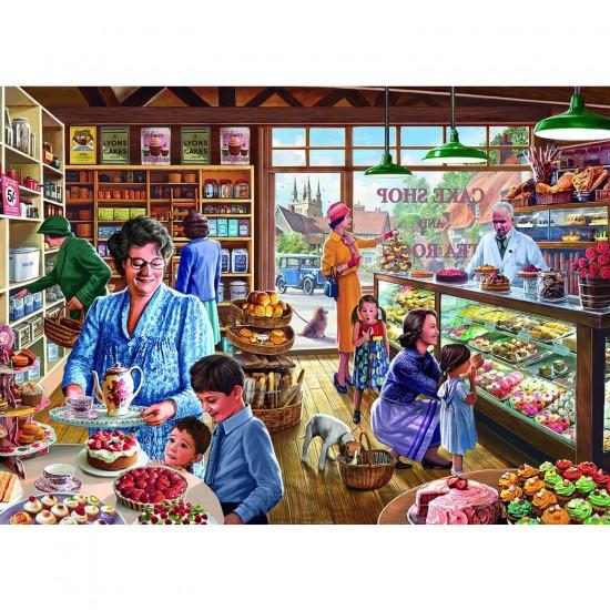 Puzzle 500 pièces : Steve Crisp : La boulangerie - Gibsons-G3515