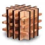 Casse-tête en bois Bamboo : Carré