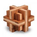 Casse-tête en bois Bamboo : Croix