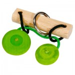 Casse-tête en bois et cordes : Force verte