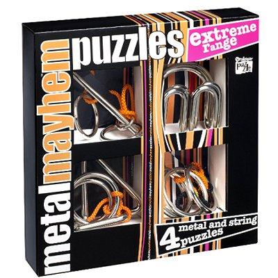 Casse-têtes en métal x 4 Professor Puzzle : Série Extrême - Gigamic-PPME