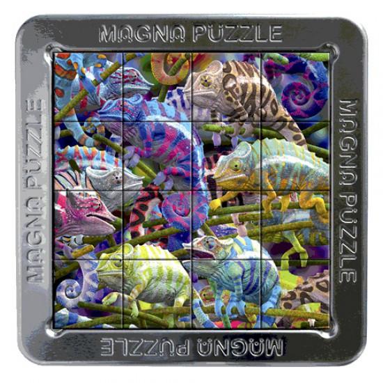 Puzzle 3D 16 pièces : Magna Puzzle : Caméléons - Gigamic-CWM2-CWMCA-21201