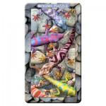 Puzzle 3D 32 pièces : Magna Puzzle Portrait : Geckos
