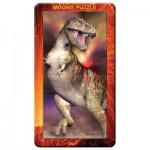 Puzzle 3D 32 pièces : Magna Puzzle Portrait : T-Rex