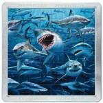 Puzzle 3D 64 pièces : Magna Puzzle : Requins