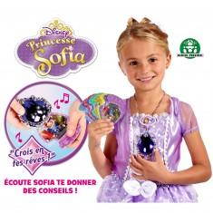 Accessoires Princesses Sofia : Amulette Magique + 1 couronne
