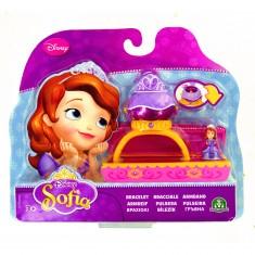 Bijoux Princesse Sofia : Bracelet avec mini figurine : Tiare