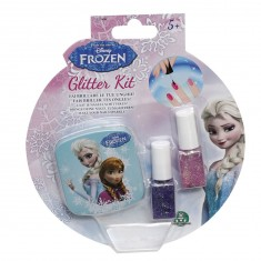 Blister vernis à ongles La Reine des Neiges (Frozen) rose et violet