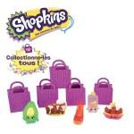 Coffre Shopkins Série 2 : 5 personnages et 5 sacs