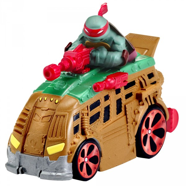 figurine vhicule tortues ninja t machines raph in shellraiser giochi 6751
