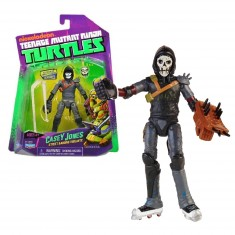 Figurine articulée Tortues Ninja 12 cm et accessoires : Casey Jones
