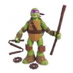 Figurine articulée Tortues Ninja 12 cm et accessoires : Donatello