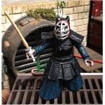 Figurine articulée Tortues Ninja 12 cm et accessoires : Splinter