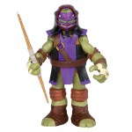 Figurine articulée Tortues Ninja 25 cm avec accessoires - Donatello