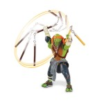Figurine deluxe articulée à fonction Tortues Ninja : Mike
