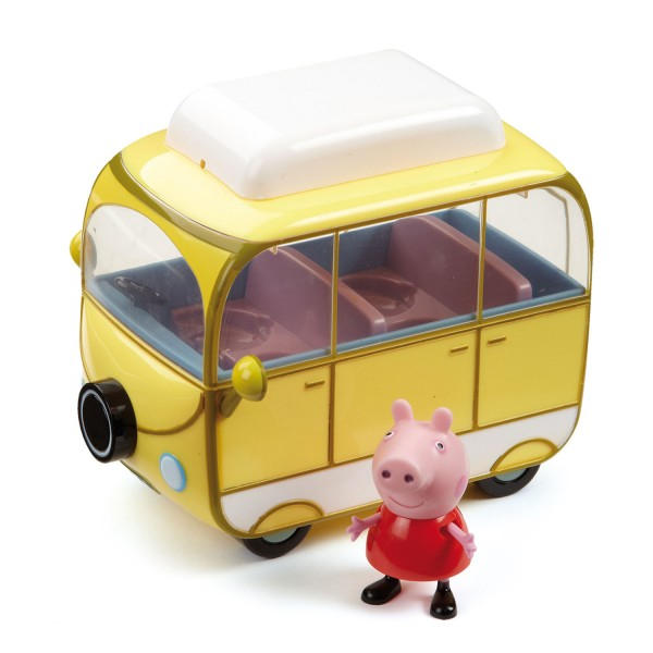 Figurine peppa pig peppa et son camping car jeux et jouets giochi preziosi avenue des jeux - Fusee peppa pig ...