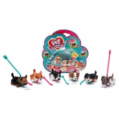 Figurine Pet Parade Chien (modèle aléatoire)