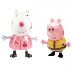 Figurine Suzy le mouton et George