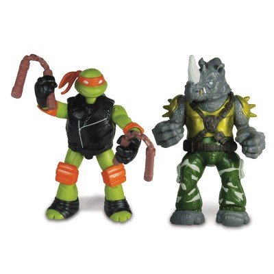 Figurine tortues ninja 2 figurines fonction - Tortues ninja michelangelo ...
