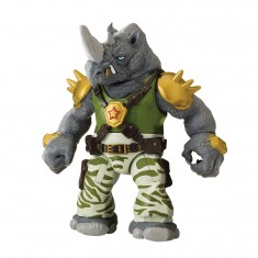 Figurine Tortues Ninja : Battle Shell 12 cm : Rocksteady