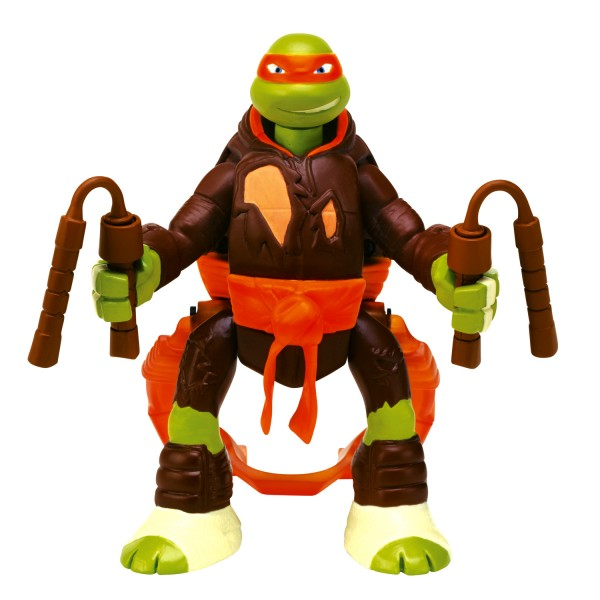 Figurine tortues ninja saut d 39 attaque michelangelo - Tortue ninja raphaelo ...