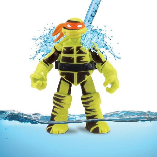 Figurine tortues ninja shadow ninja mikey change de couleur jeux et jouets giochi preziosi - Tortue ninja couleur ...