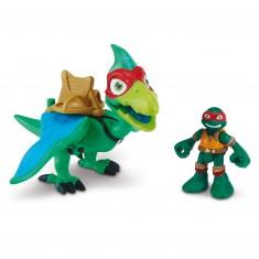 Figurine Tortues Ninja Half-Shell Heroes : Pterodactyl et Raphael