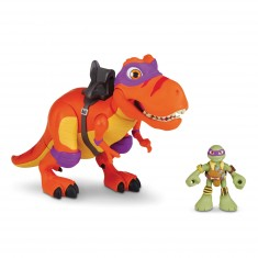 Figurine Tortues Ninja Half-Shell Heroes : T-Rex et Donatello