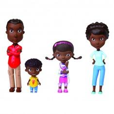 Figurines Docteur la Peluche : 4 figurines