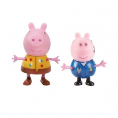 Figurines Peppa et Georges