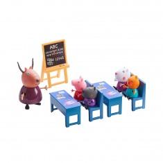 Figurines Peppa Pig : La classe avec 7 personnes